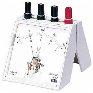 直流電圧計(片面タイプ)シングルメーター 86150420532P17Sep16