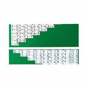 計算練習カード 両面マグネット式【送料無料】1セット(100枚) 86167141