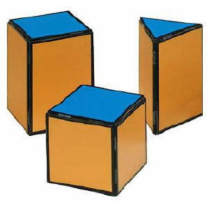 立体の展開図説明板【送料無料】 86167037