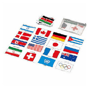 世界の国旗マグネットカード  1セット(62枚)送料無料【smtb-KD】532P17Sep16