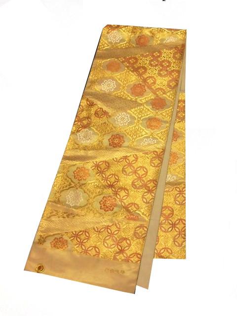 【宝彩館】最高級 川島織物袋帯 能衣織文 お仕立て付き