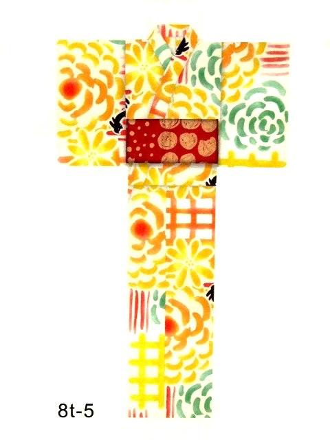 【宝彩館】2018年新作!ツモリチサト tsumorichisato お仕立て上がり浴衣 8T-5