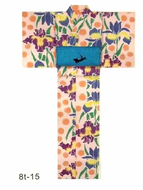 送料無料!【宝彩館】ツモリチサト tsumorichisato お仕立て上がり浴衣 8T-15