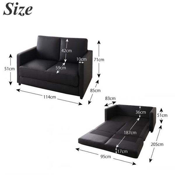 Pvc Leather Sofa Bed Folding