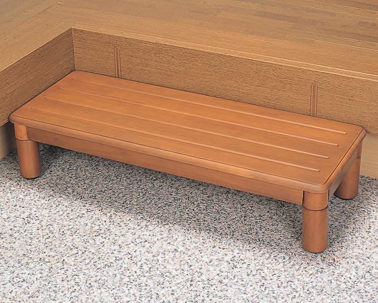 【送料無料】木製玄関ステップ 1段ワイド900 パナソニック VALSMGSW [介護用品 玄関 踏み台 屋内 ステップ]【代金引換不可】