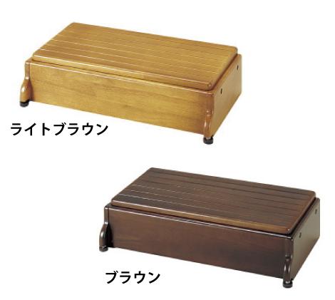 【送料無料】木製玄関台 60W-30-1段 アロン化成【代金引換不可】