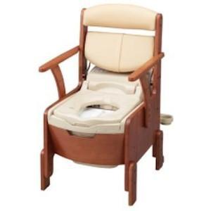 【送料無料】家具調トイレ AR-SA1ライト シャワピタ ノーマル 533-818 アロン化成(介護用品 トイレ 洋式トイレ)【代金引換不可】