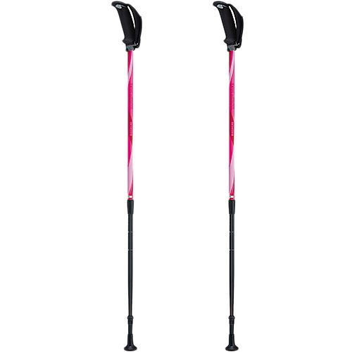 【送料無料】フリーアルミDフィット 2 羽立工業 ピンク / ライトブルー [介護 杖 歩行補助 歩行関連 ステッキ ウォーキング ハイキング]