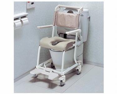 【送料無料】水まわり用車いす 4輪 ソフトシート TOTO [介護用品 浴室 浴槽 入浴補助 車椅子]【代金引換不可】