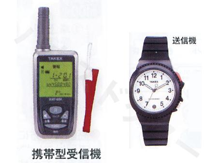 緊急呼び出しセット 携帯型受信機セット FES-111(KE) フォーライフメディカル [介護 コミュニケーション アラーム 緊急 腕時計 老人]【代金引換不可】