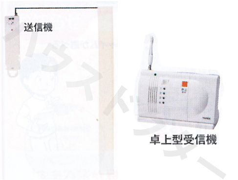 【送料無料】端座位くん 卓上型受信機セット FBCS-890(T) フォーライフメディカル [介護用品 徘徊 防止 呼出 センサー]【代金引換不可】