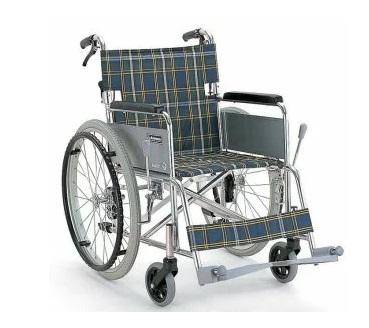 【送料無料】自走型車いす KA102SB カワムラサイクル [車椅子 介助 アルミ製 介護用品]【代金引換不可】