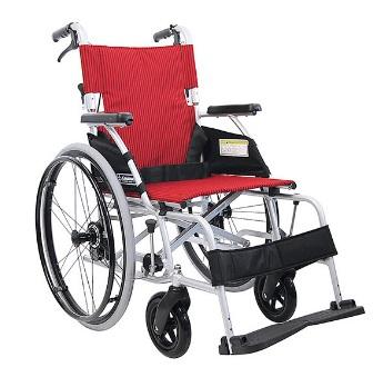 【送料無料】自走型 BML22-40SB カワムラサイクル [車椅子 介助 アルミ製 介護用品]【代金引換不可】