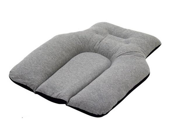 円背クッション 座位・寝姿勢用 西川 [車椅子 車イス クッション 座布団 座位] 【代金引換不可】