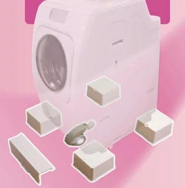 シナネン ベストレイ ランドリースタンド RS-6060W SINANEN洗濯機 置き台 洗濯機台 洗濯パン トレイ 640※代金引換不可※北海道、沖縄、離島への配送不可