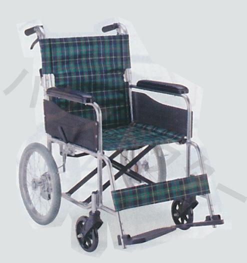 【送料無料】介助型 ノーパンク車いす EW-30 介助型 マキテック [車椅子 介助 アルミ製 介護用品]【代金引換不可】