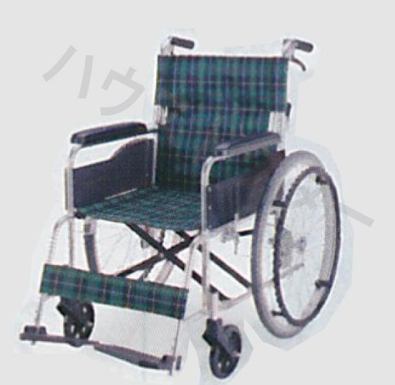 【送料無料】自走型 ノーパンク車いす EW-50 マキテック [車椅子 介助 アルミ製 介護用品]【代金引換不可】