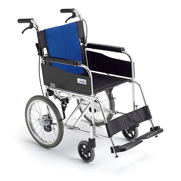 【送料無料】自走型 BAL-1B ミキ [車椅子 介助 アルミ製 介護用品]【代金引換不可】