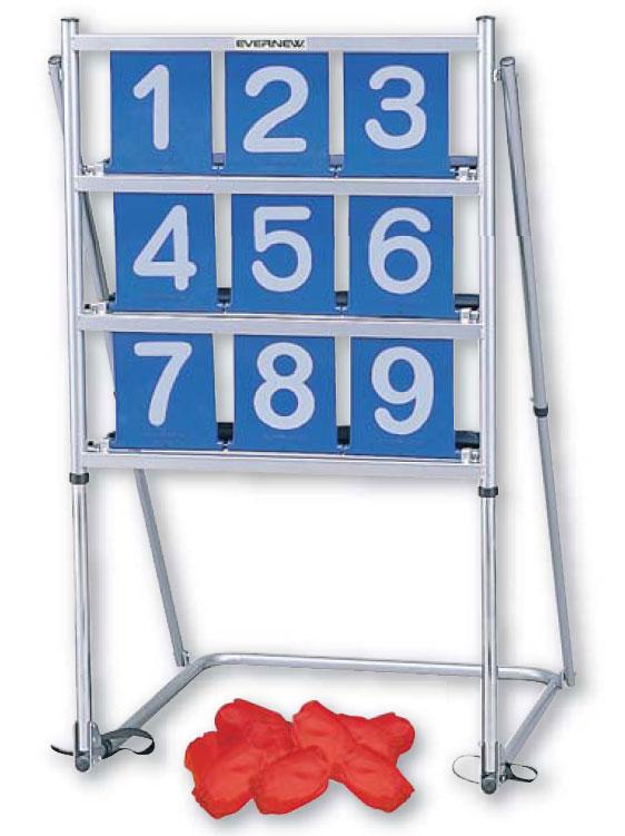 【送料無料】ストライクボードセット NH9101 羽立工業 [介護 レクリエイション リハビリ ゲーム]【代金引換不可】