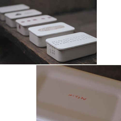 倉敷意匠/ミツさんのホウロウお弁当箱