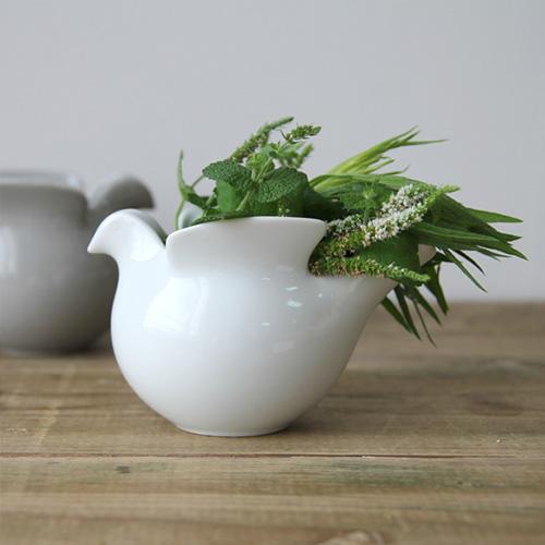 日本全国 送料無料 リサラーソン 波佐見焼 西山陶器 花器 送料無料でお届けします 花瓶 ポット 北欧雑貨 送料無料 鳩のポット duva ミルクピッチャー ドゥーバ 母の日 キャンドルホルダー リサラーソン×波佐見焼
