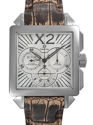 オメガ OMEGA デビルX2 コーアクシャルクロノグラフ423.13.37.50.02.001【新品】 メンズ 腕時計 送料・代引手数料無料