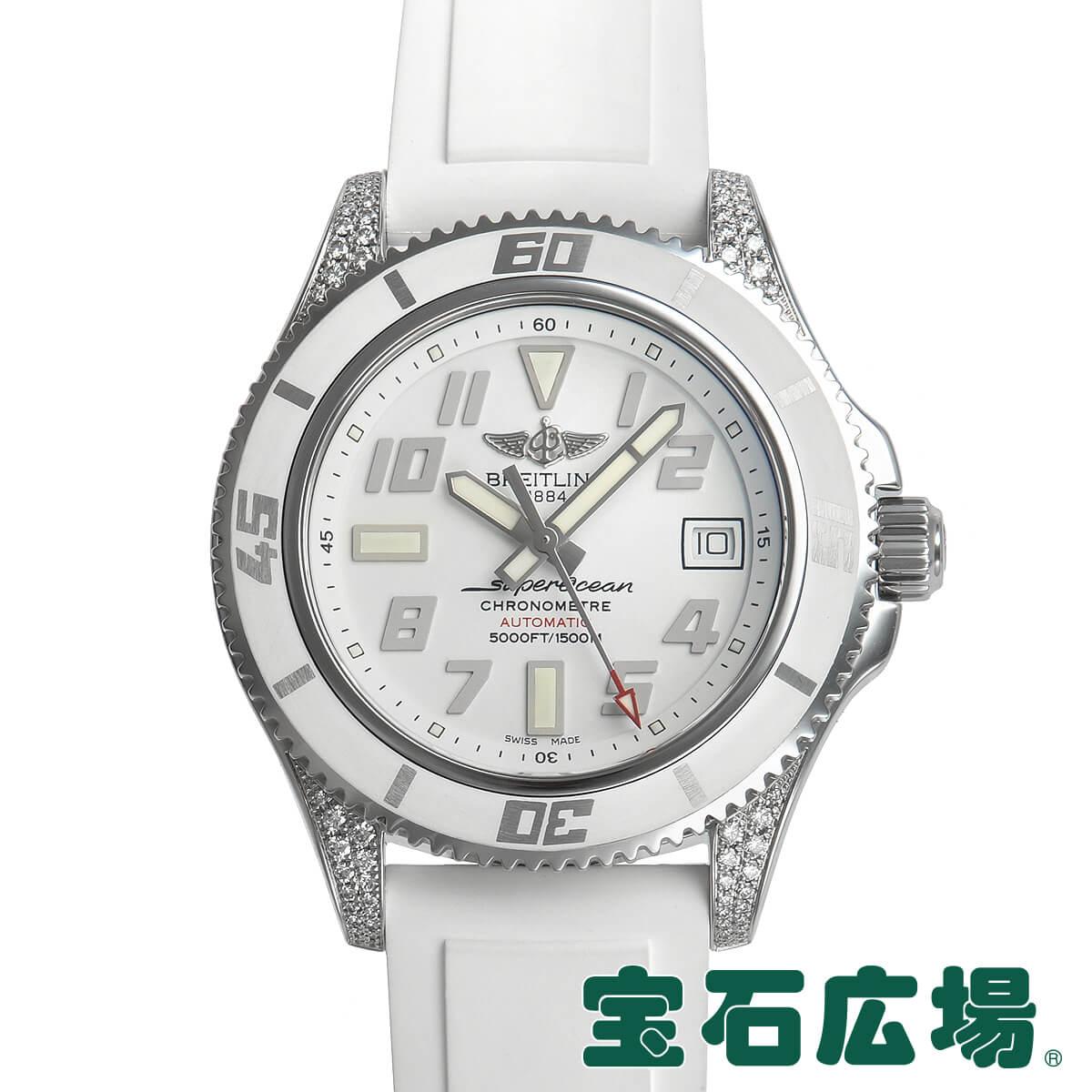ブライトリング BREITLING スーパーオーシャン 42 世界限定100本 A17364AR/A763.147S A18D.2【中古】メンズ 腕時計 送料・代引手数料無料
