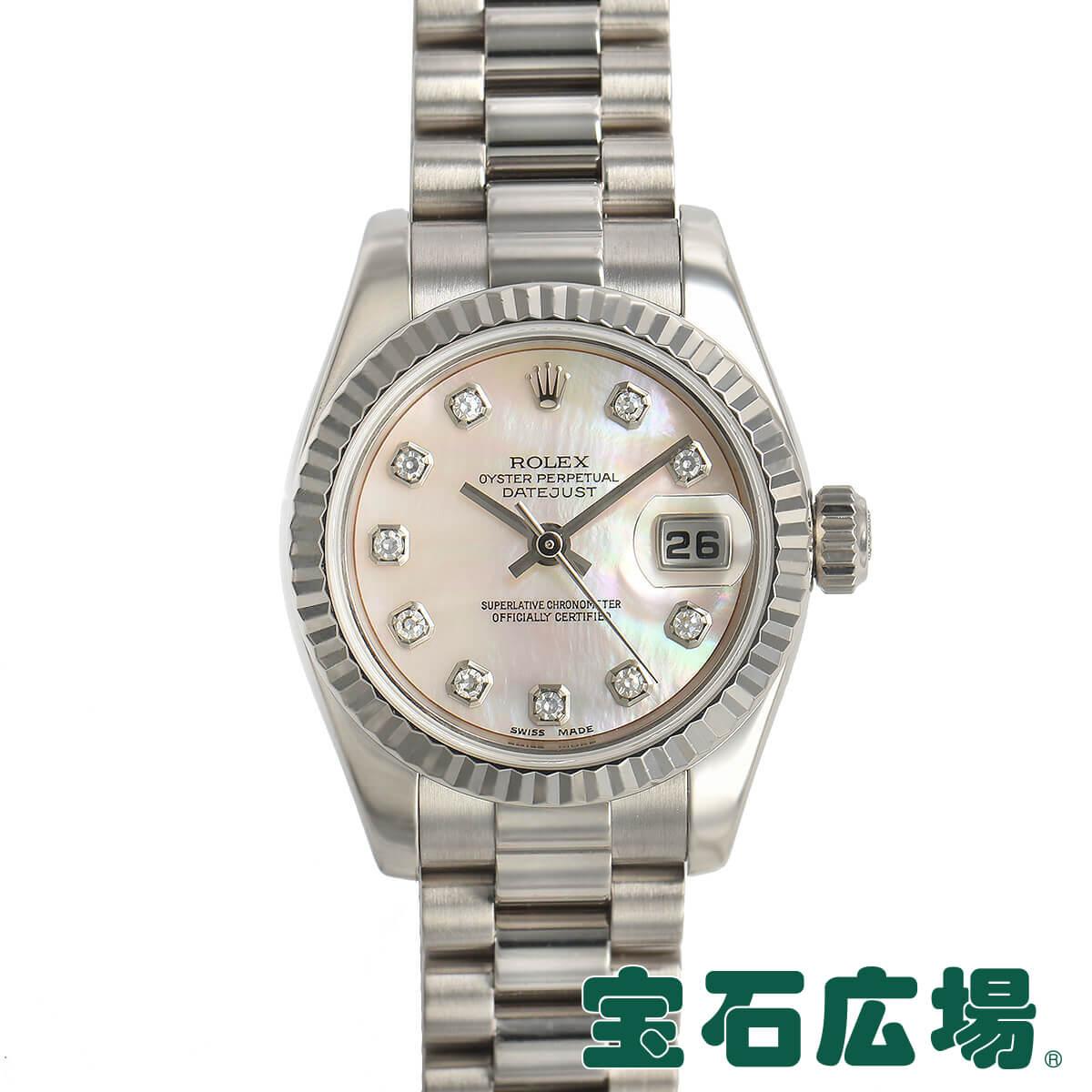 ロレックス ROLEX デイトジャスト 179179NG【中古】レディース 腕時計 送料・代引手数料無料