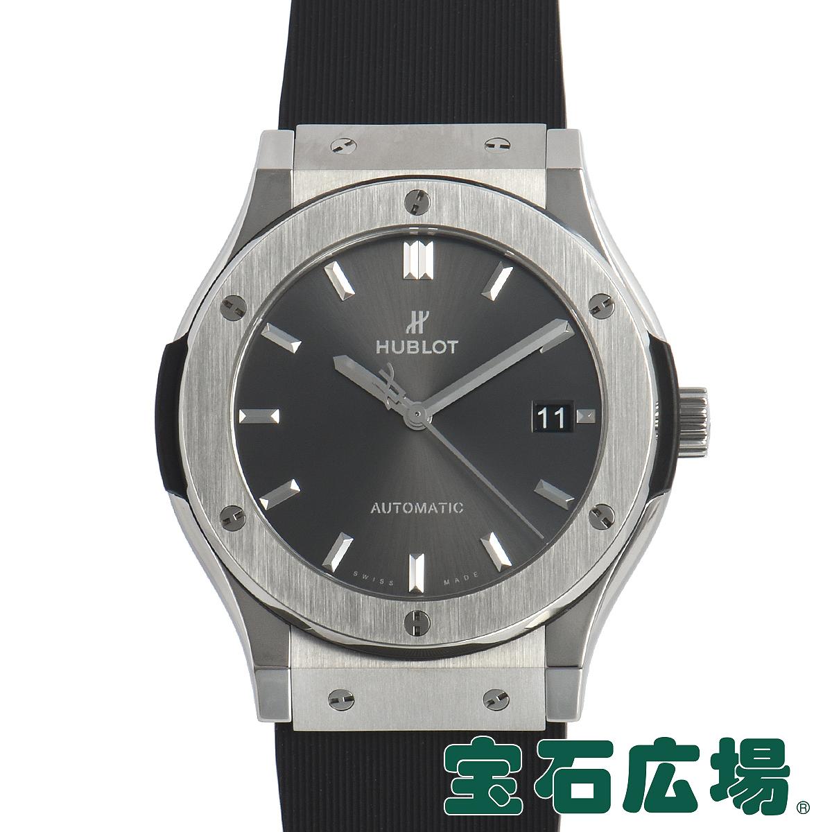 ウブロ HUBLOT クラシックフュージョン レーシング グレー チタニウム 511.NX.7071.LR【中古】メンズ 腕時計 送料・代引手数料無料