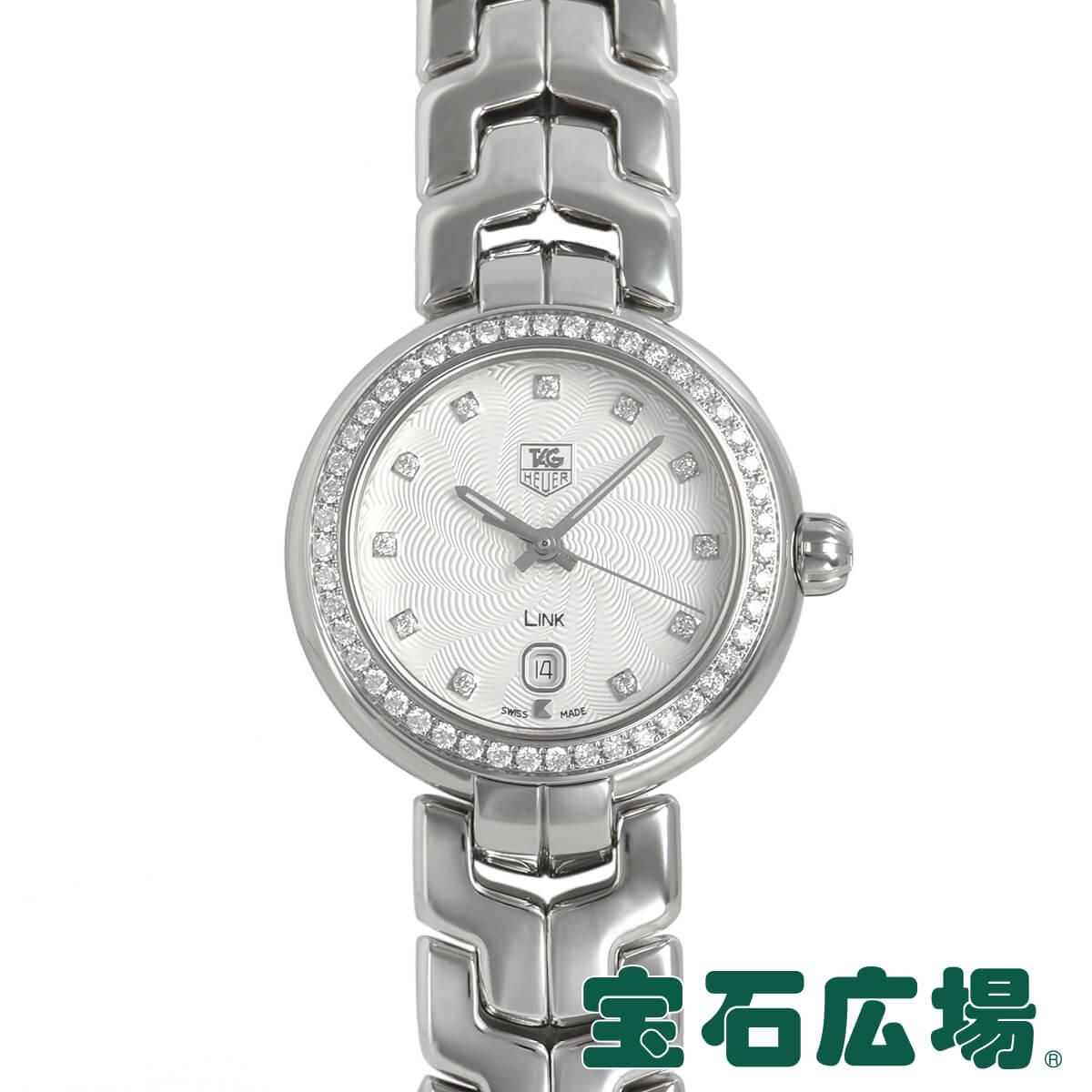 タグ・ホイヤー TAG HEUER リンク レディ ダイヤモンド WAT1414.BA0954【中古】レディース 腕時計 送料・代引手数料無料