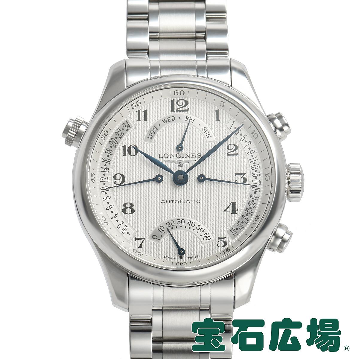 ロンジン LONGINES マスターコレクション レトログラード L2.715.4.78.6【中古】メンズ 腕時計 送料・代引手数料無料