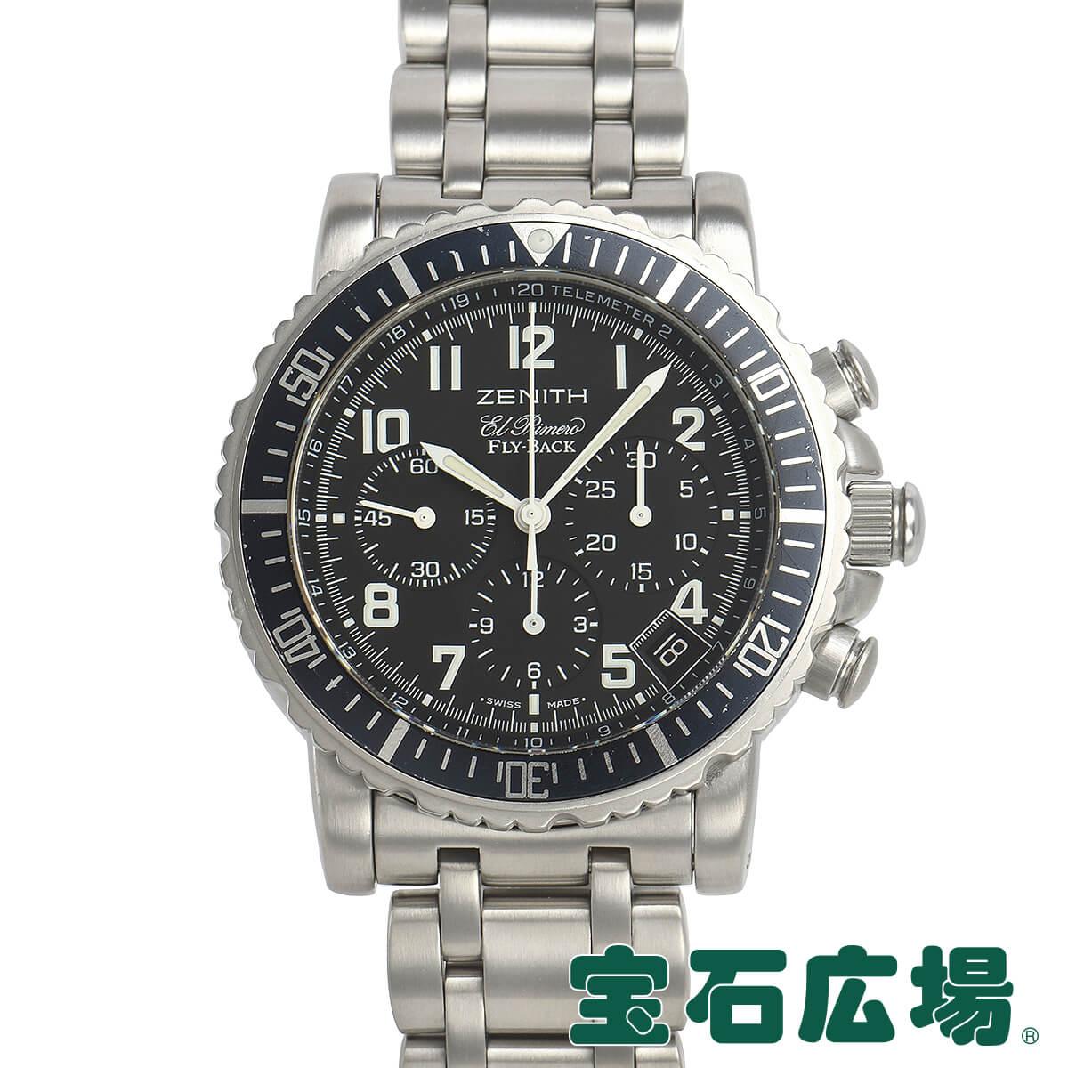 ゼニス ZENITH レインボーフライバック 02.0470.405/25【中古】メンズ 腕時計 送料・代引手数料無料