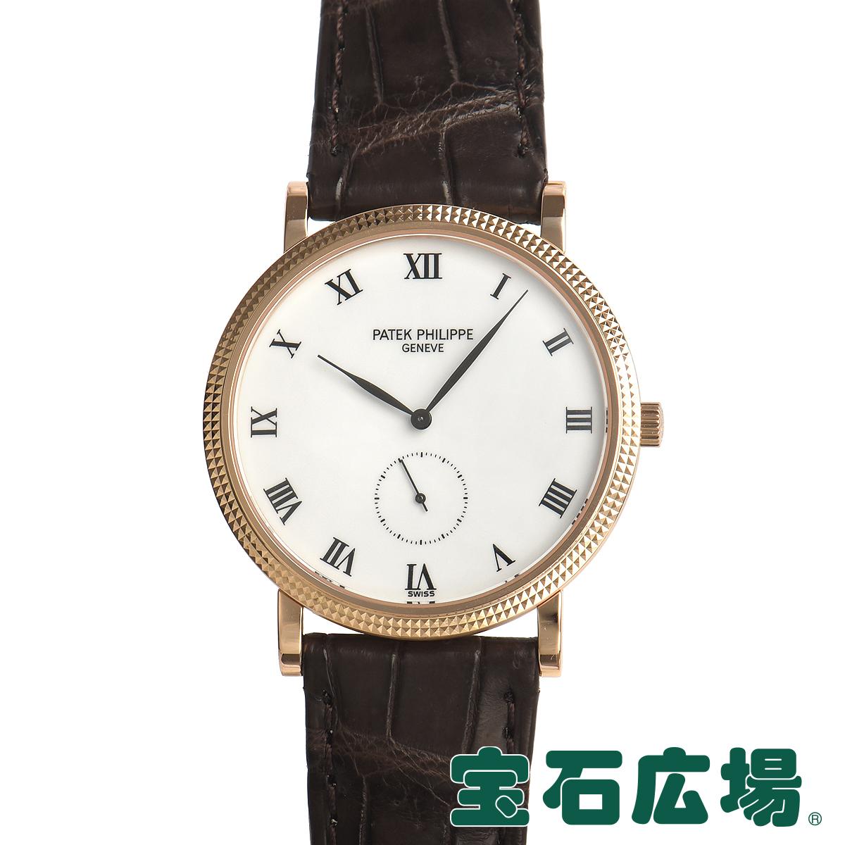 パテックフィリップ PATEK PHILIPPE カラトラバ 3919R-001【中古】メンズ 腕時計 送料・代引手数料無料