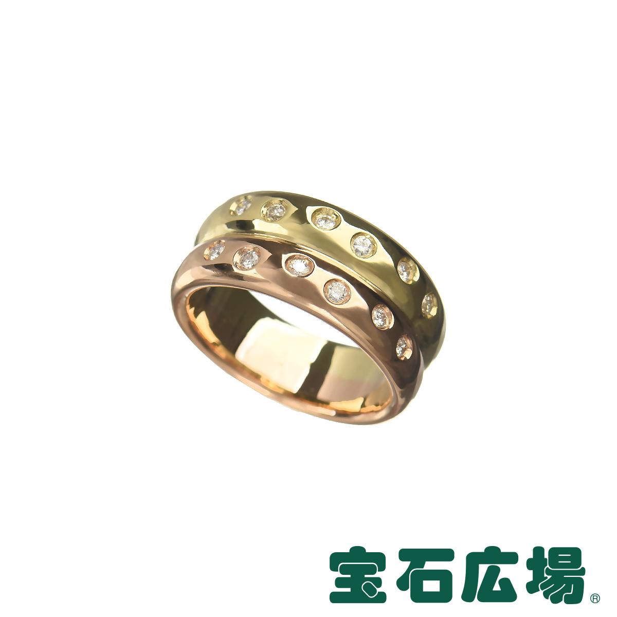 ノーブランド ダイヤ 2ロウリング 【中古】 ジュエリー 送料無料