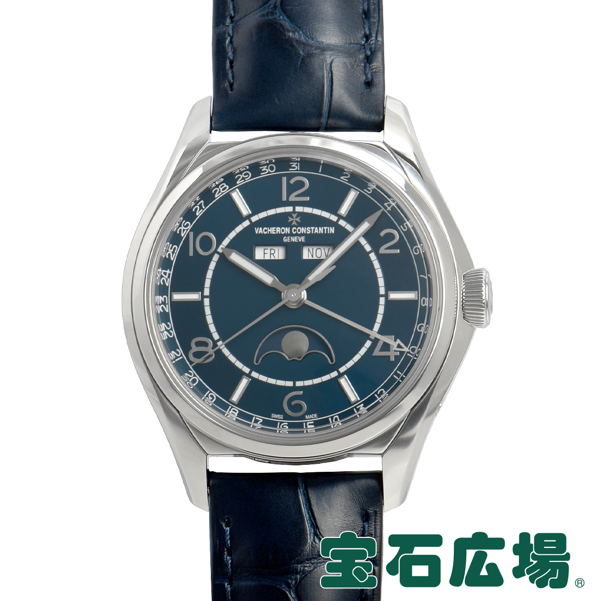 ヴァシュロンコンスタンタン VACHERON CONSTANTIN フィフティシックス コンプリートカレンダー 4000E/000A-B548【新品】メンズ 腕時計 送料無料