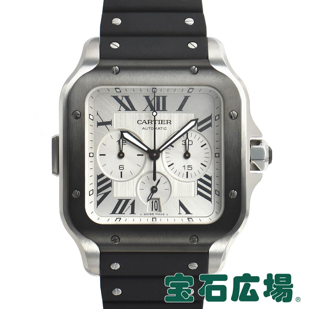 カルティエ CARTIER サントス ドゥ カルティエ クロノグラフ XL WSSA0017【新品】メンズ 腕時計 送料・代引手数料無料