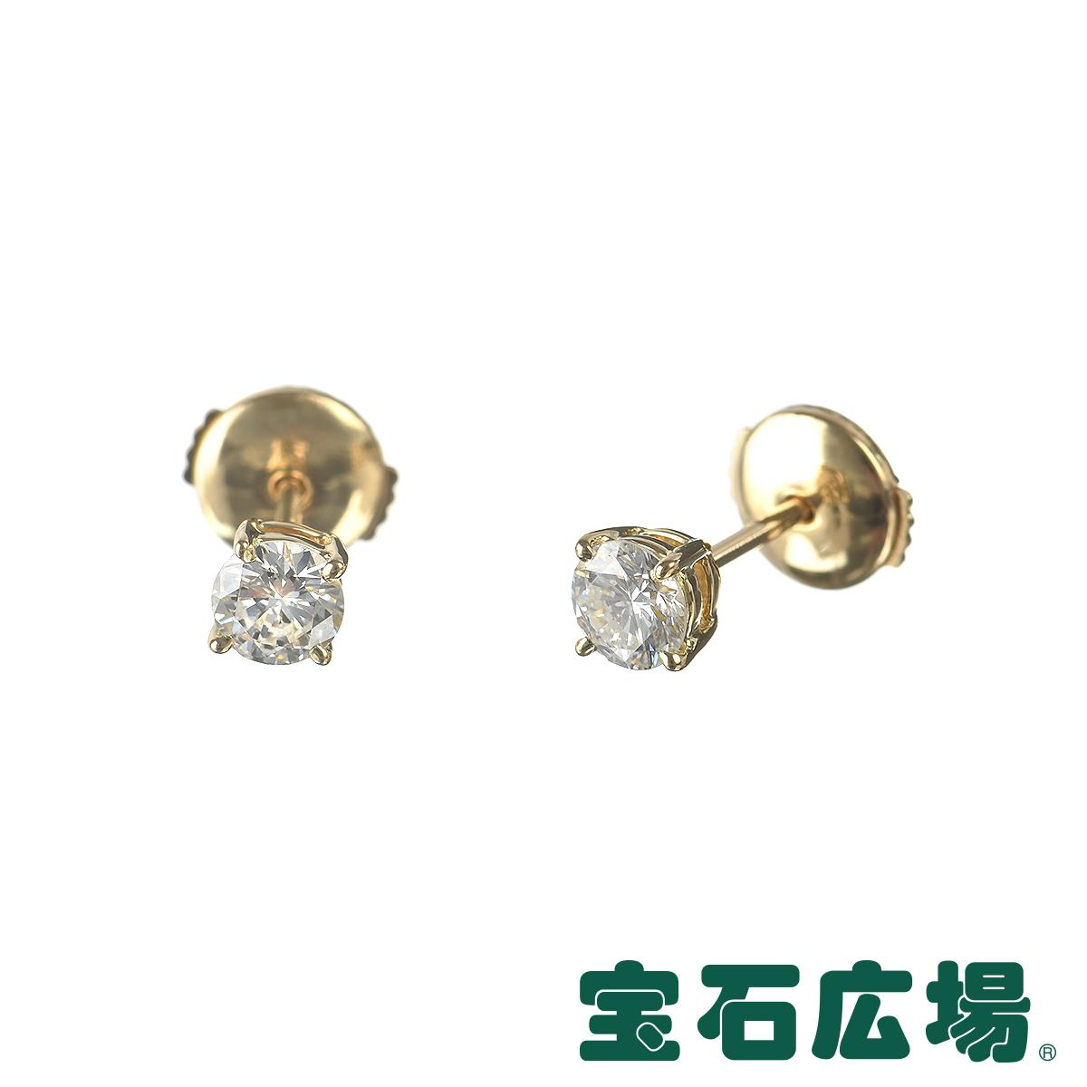ダイヤモンド ジュエリー 宝石広場オリジナル ダイヤ ピアス D 0.391ct / 0.332ct 【新品】 ジュエリー 送料無料