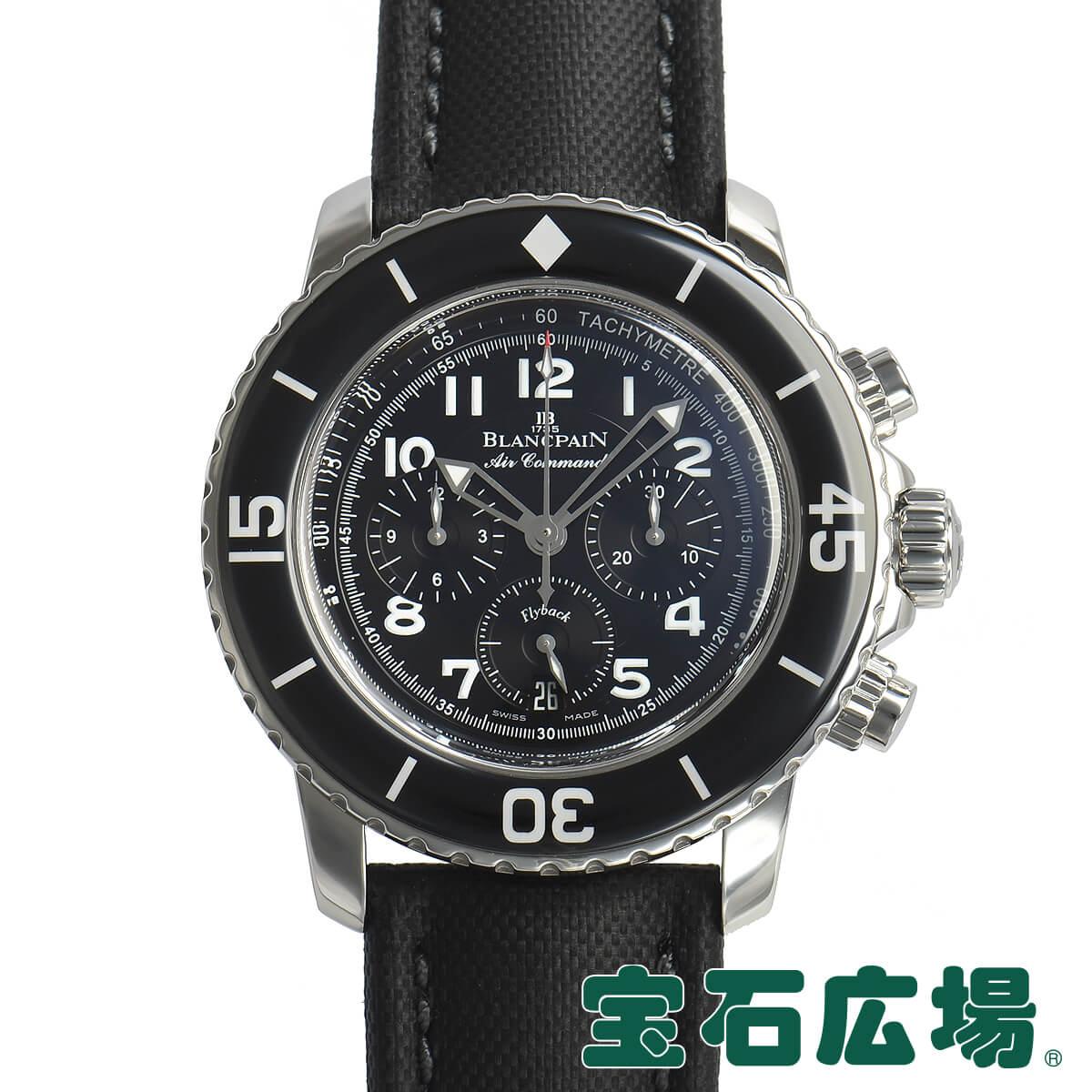 ブランパン BLANC PAIN エアーコマンド フライバック 5885F.1130.52A【中古】メンズ 腕時計 送料・代引手数料無料