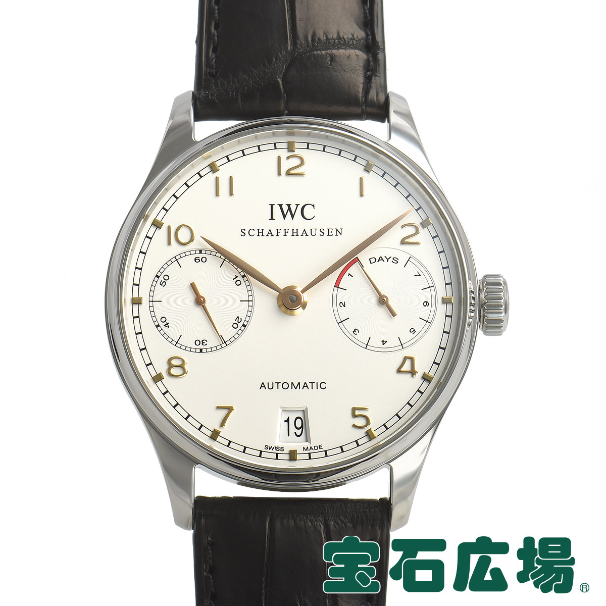 IWC (アイ・ダブリュー・シー) ポルトギーゼ オートマチック IW500114【中古】メンズ 腕時計 送料・代引手数料無料
