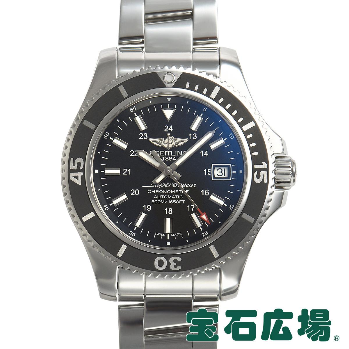 ブライトリング BREITLING スーパーオーシャンII42 ジャパン・スペシャルエディション A17365C9/BF71【中古】メンズ 腕時計 送料・代引手数料無料