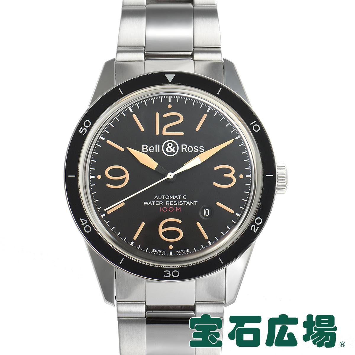 ベル&ロス BELL & ROSS BR123 SPORT HERITAGE BR123-92-SP【中古】メンズ 腕時計 送料・代引手数料無料