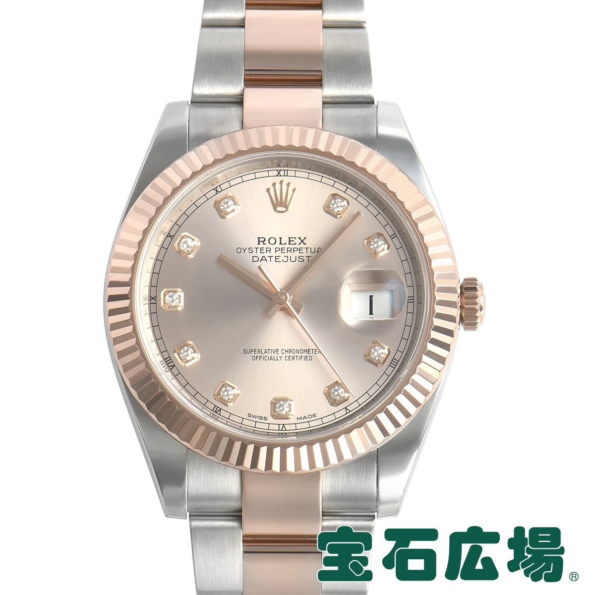 ロレックス ROLEX デイトジャスト41 126331G【中古】メンズ 腕時計 送料・代引手数料無料