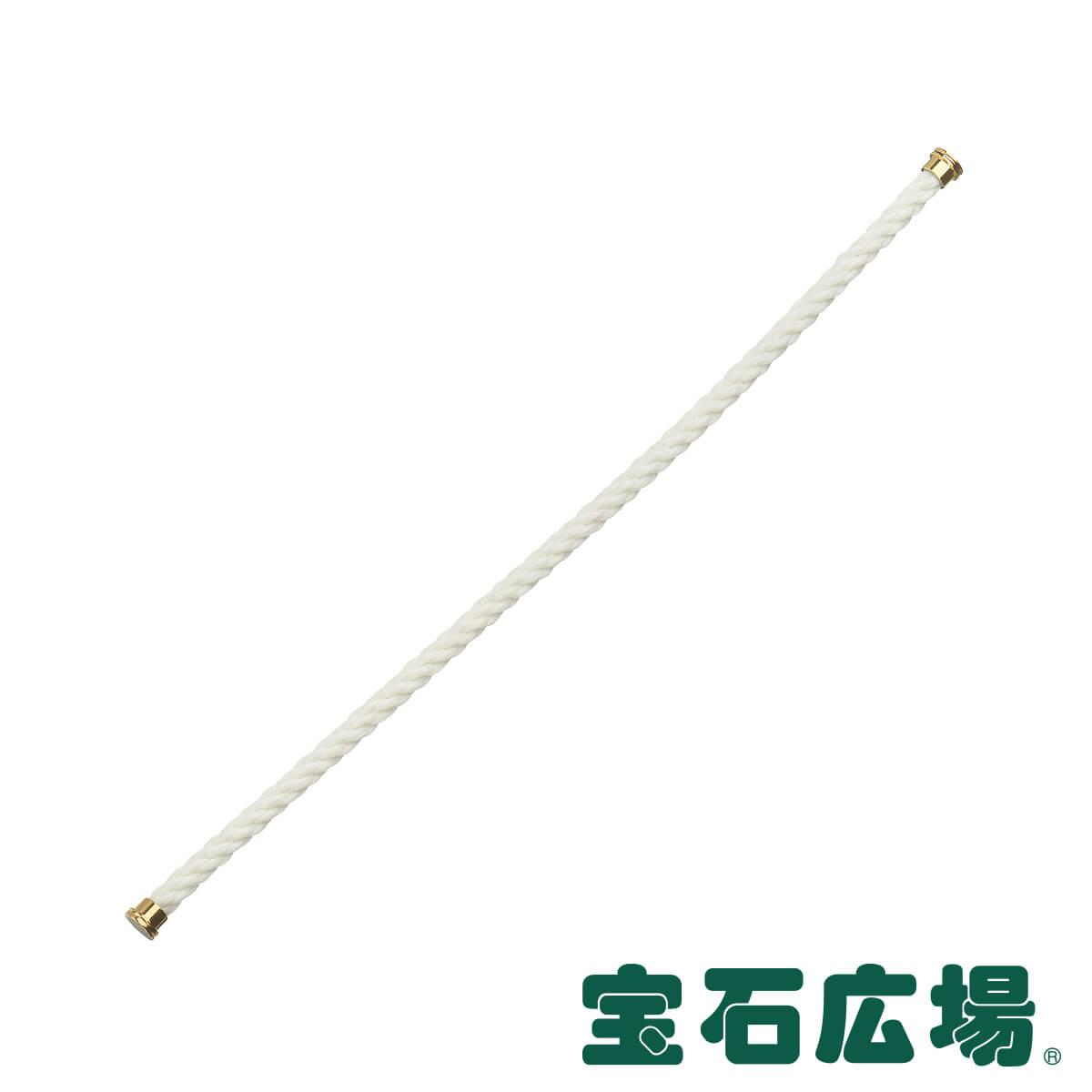 フレッド FRED フォース10 ホワイト テキスタイル ケーブル (LM) 6B0161【新品】 ジュエリー 送料無料