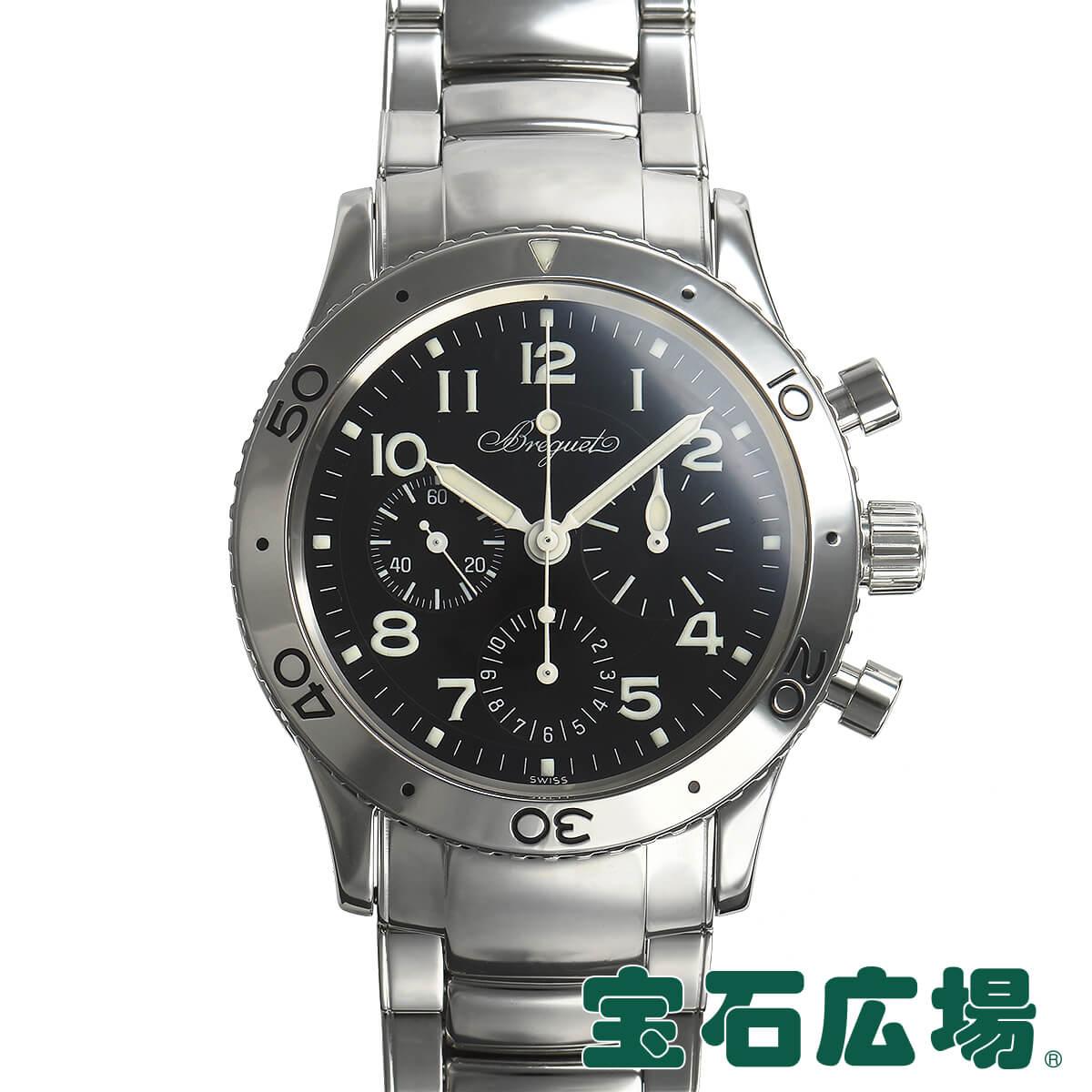 ブレゲ BREGUET アエロナバル 3800ST/92/SW9【中古】メンズ 腕時計 送料無料