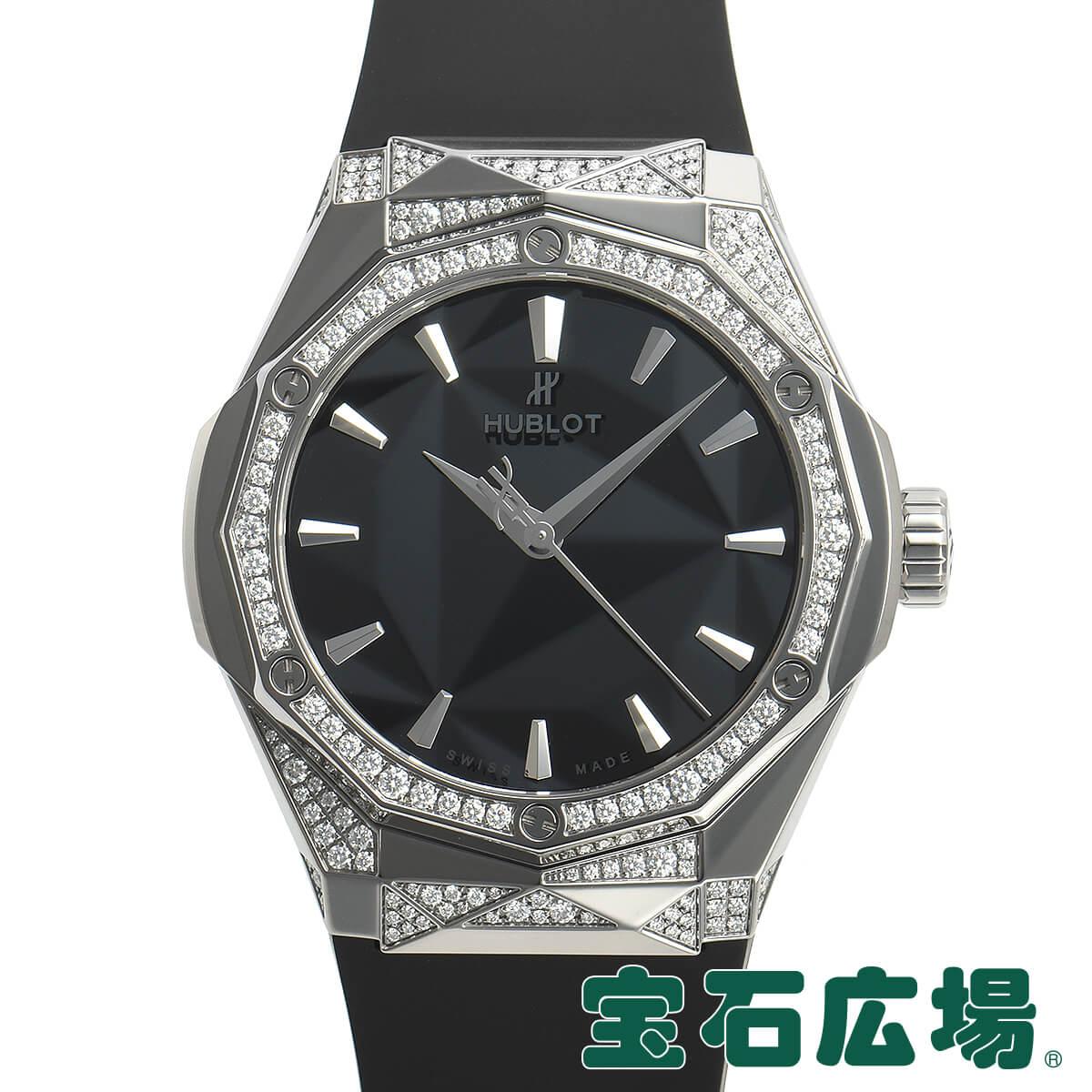 ウブロ HUBLOT クラシックフュージョン オーリンスキー チタニウム オルタナティブ パヴェ 550.NS.1800.RX.1804.ORL19【新品】メンズ 腕時計 送料無料