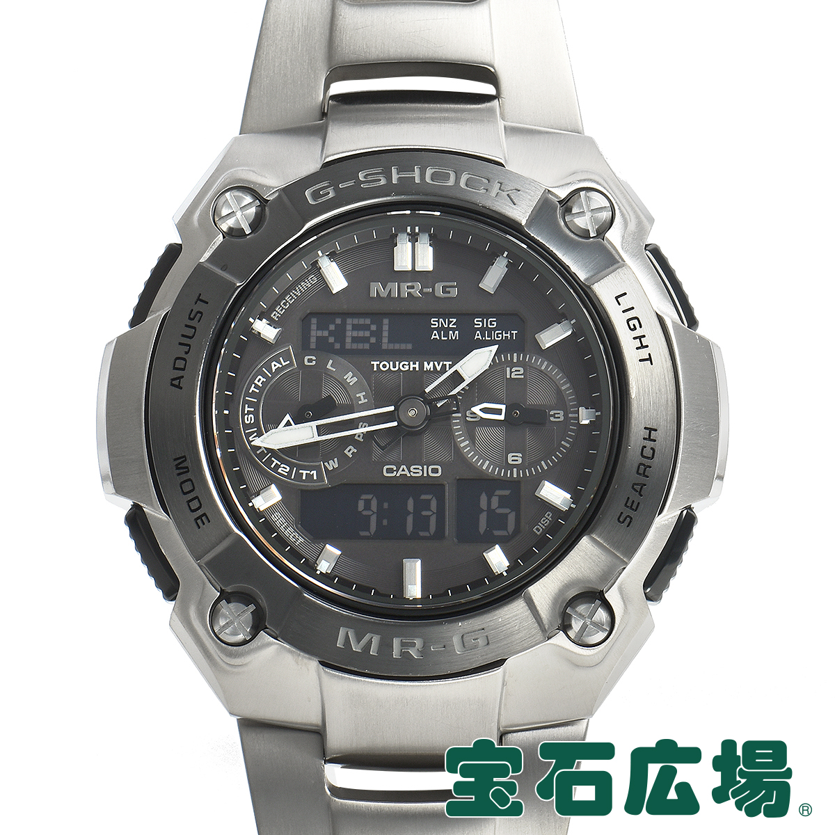 【最大3万円OFFクーポン配布中!5/1(金)0時開始】カシオ CASIO (中古) MR?G MRG-7600D-1BJF【中古】メンズ 腕時計 送料無料
