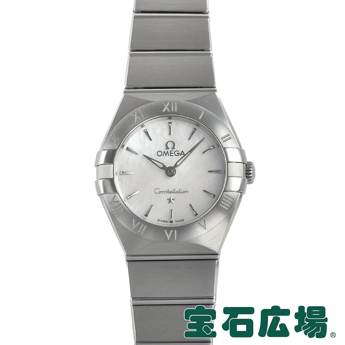 オメガ OMEGA コンステレーション マンハッタンクォーツ 131.10.25.60.05.001【新品】レディース 腕時計 送料無料