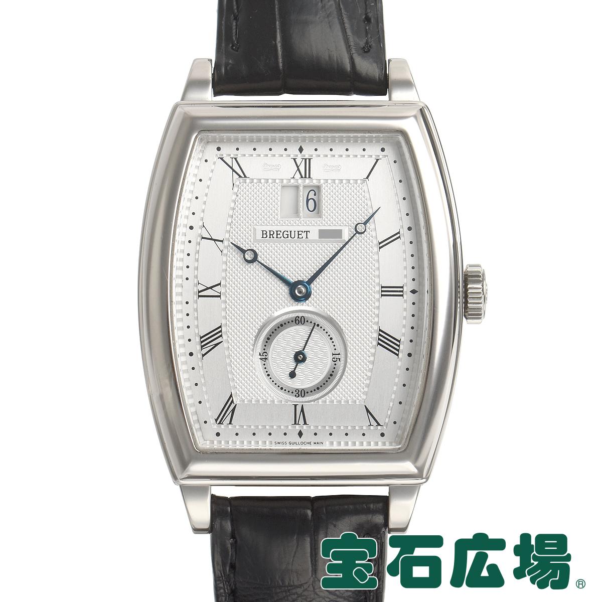 ブレゲ BREGUET ヘリテージ トノー カンブレ ラージデイト 5480BB/12/996【中古】メンズ 腕時計 送料無料