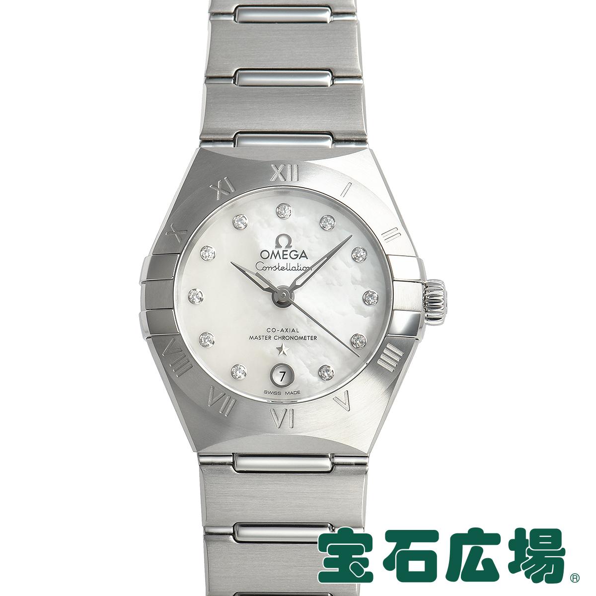 オメガ OMEGA コンステレーション マンハッタン マスタークロノメーター 131.10.29.20.55.001【新品】レディース 腕時計 送料無料