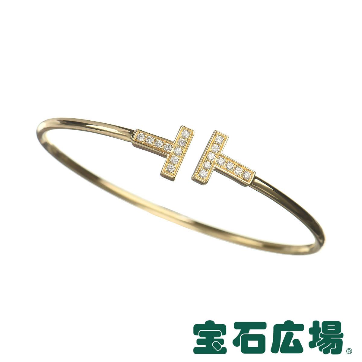 ティファニー TIFFANY&CO Tワイヤー ダイヤ ブレスレット (M) 33263481【中古】 ジュエリー 送料無料